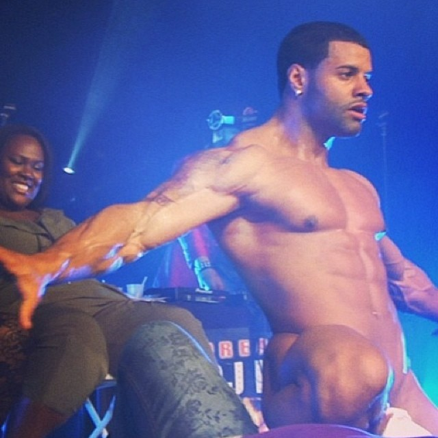 Manzzle Heat Is 2014 King Of New York Male Strippers
